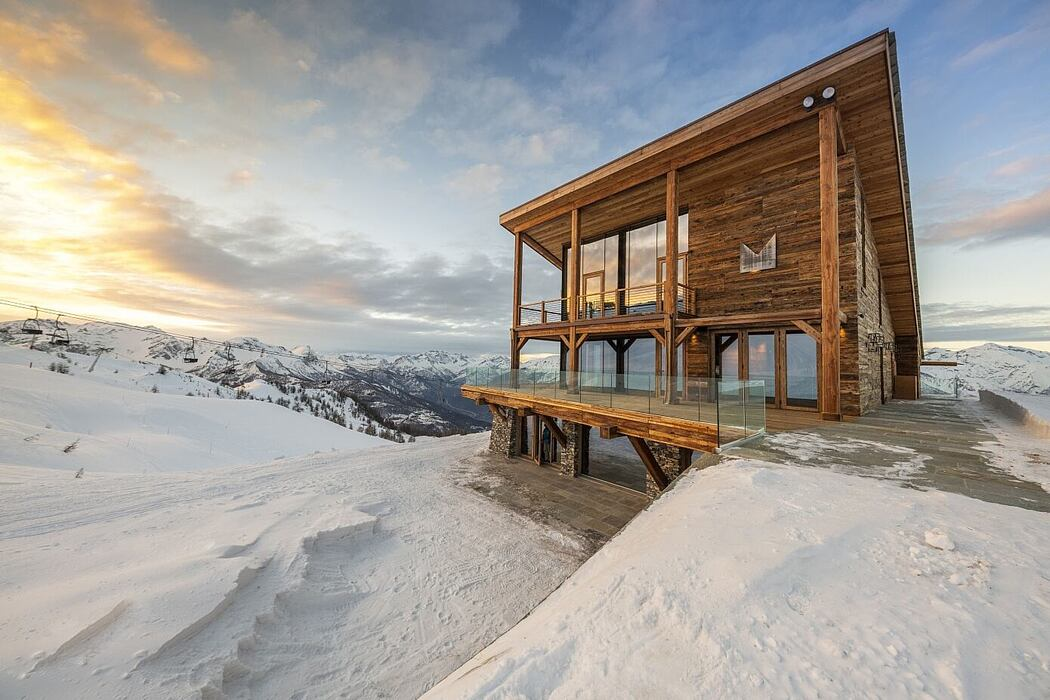 La Marmotta Refuge by AB2ER Architecture