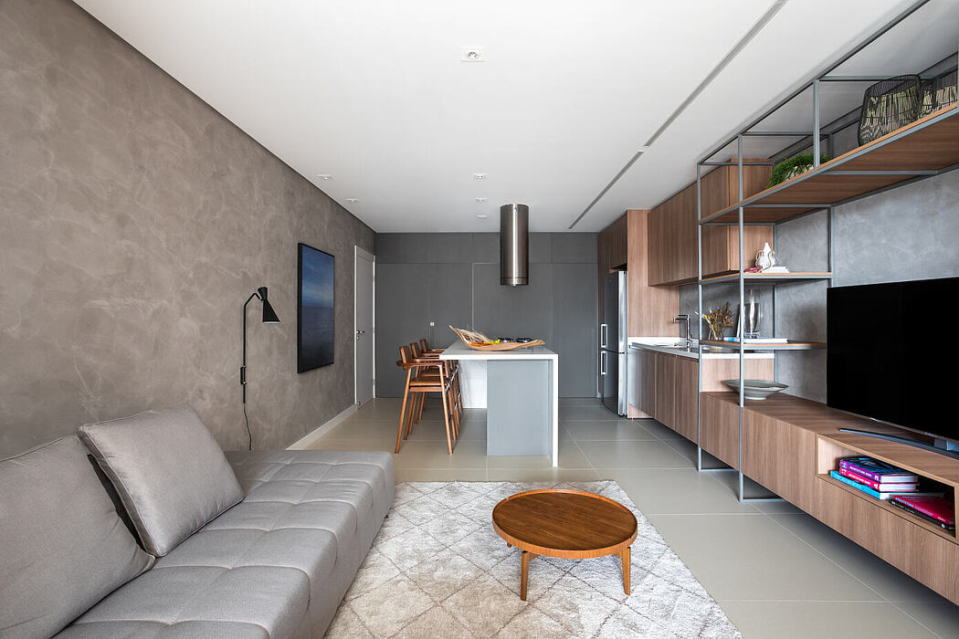 HR Apartment by Studio Boscardin.Corsi Arquitetura