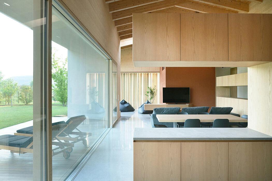 Single Story House by Marco Baldassa
