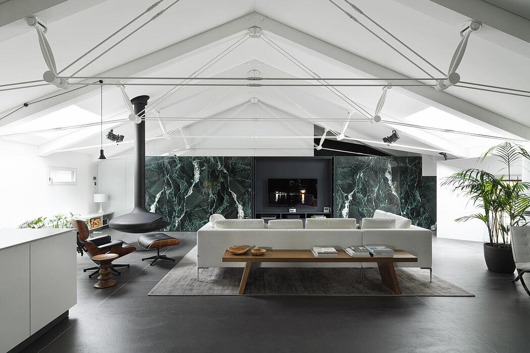 DLN Penthouse by Geza – Gri E Zucchi Architettura
