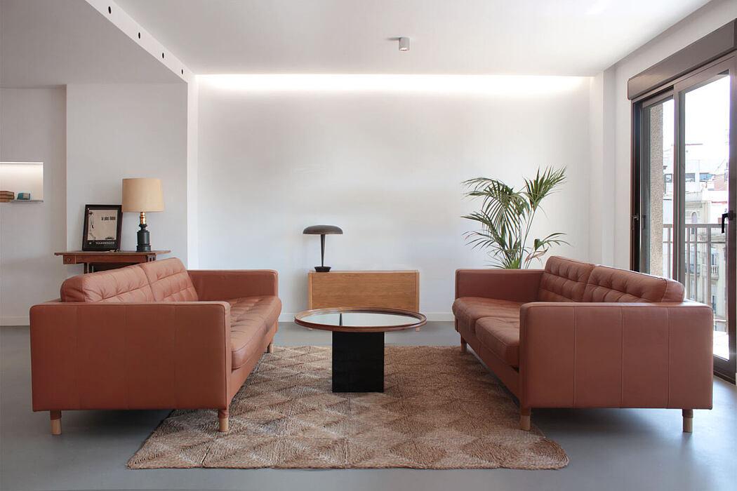 Apartment in the Center by Lujan Estudio