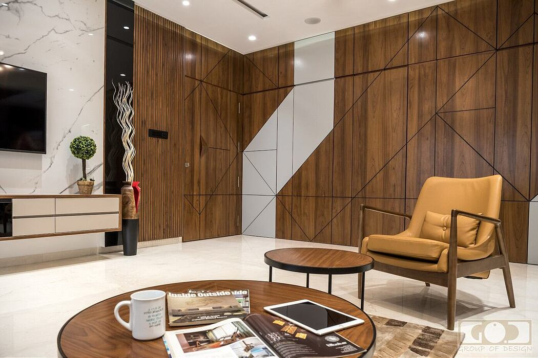 Contemporary Apartment by Group of Design