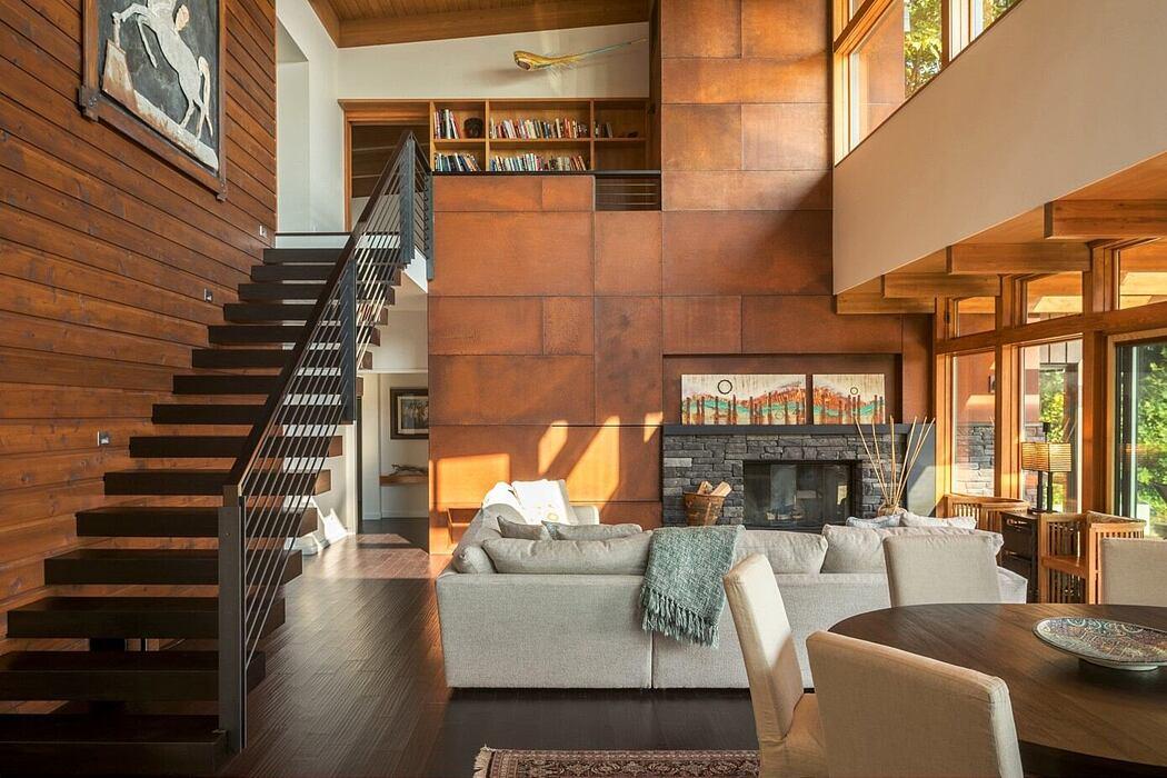 Island Retreat by Coates Design Architects