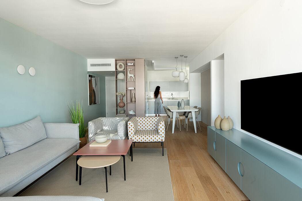 M-Apartment by Dikla Vaturi