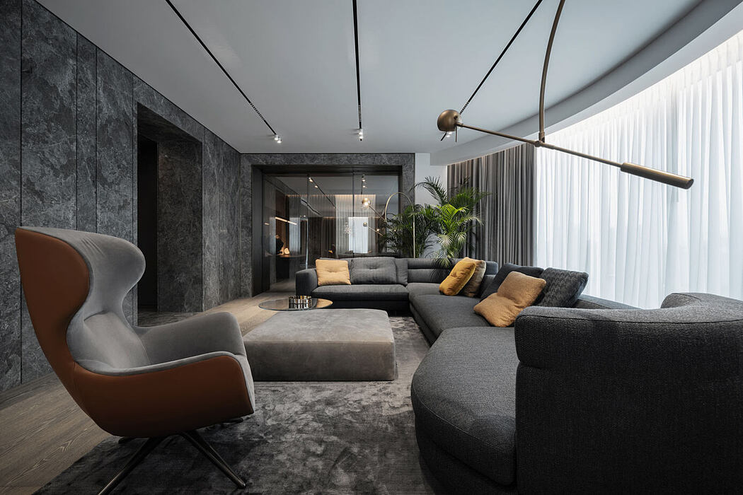 Triumph: Eclectic Style of Stones & Metals by Yodezeen Architects