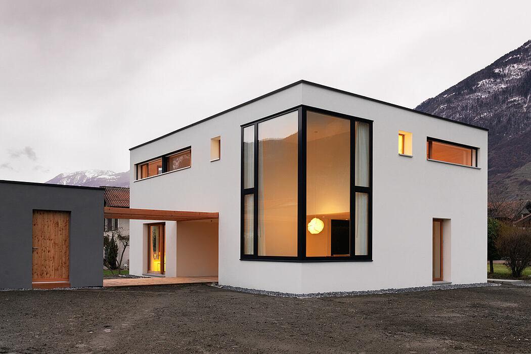 House MMB by Ralph Germann Architectes