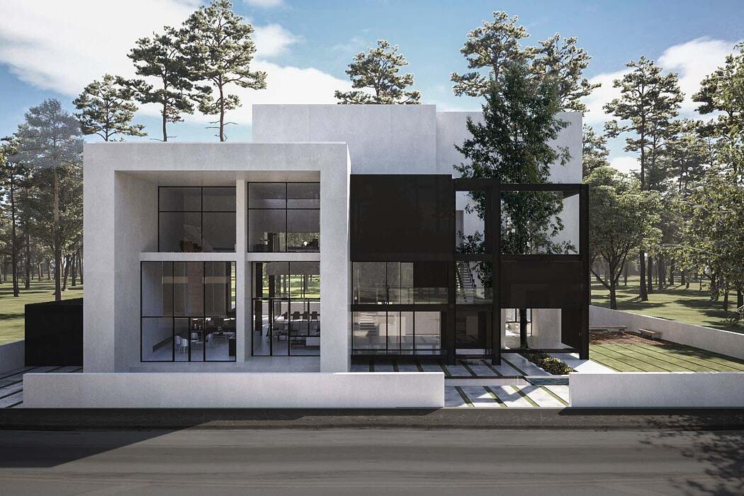 Amirdasht Villa by MADO Architects