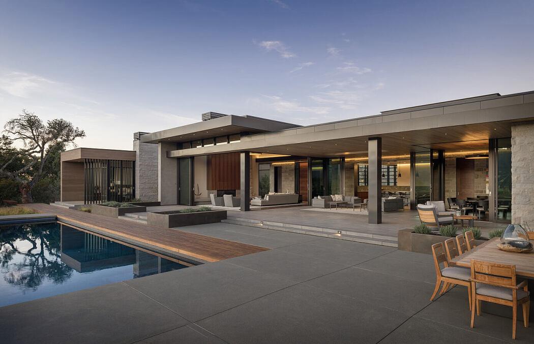 Portola Valley Residence by SB Architects