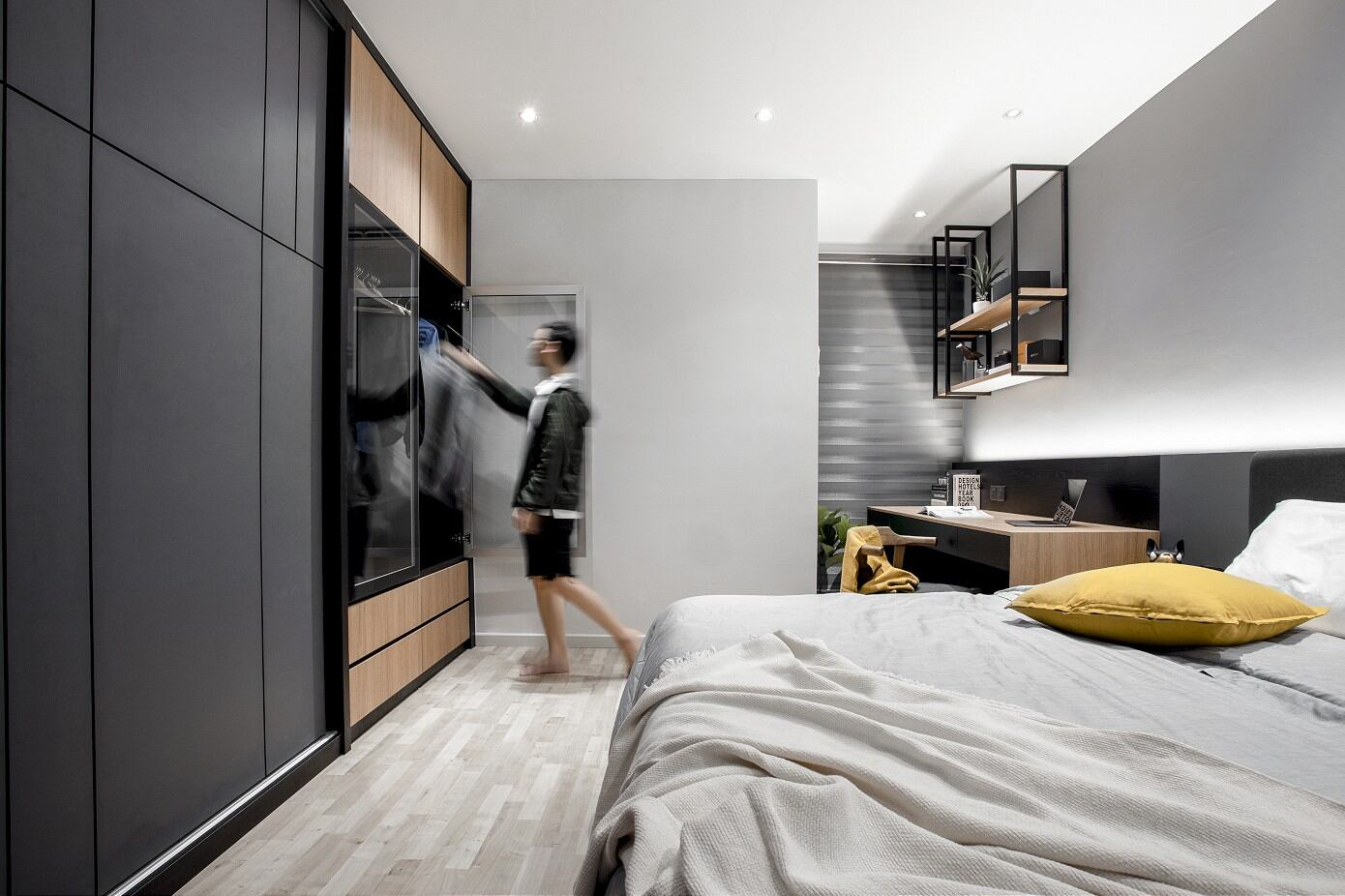 Simple Luxury Living by Wood & Col Interior Design