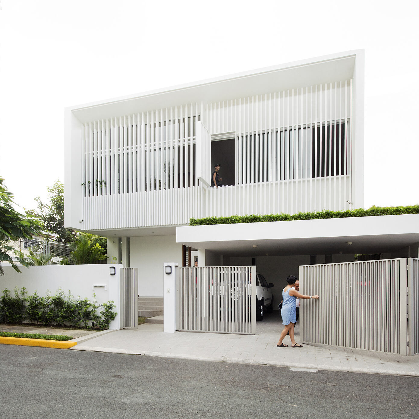Courtyard House by Alao