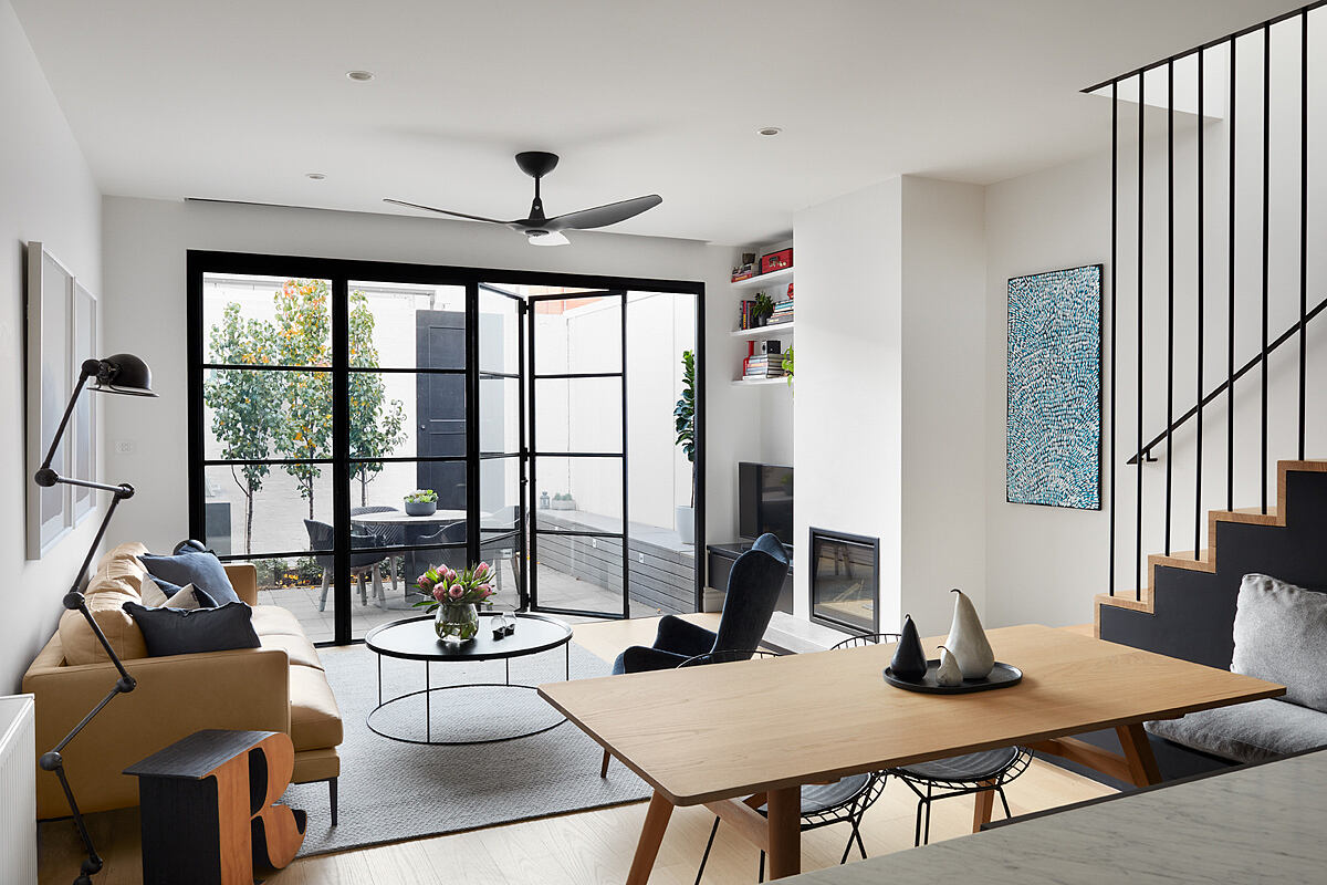 St Kilda Cottage House by Jost Architects
