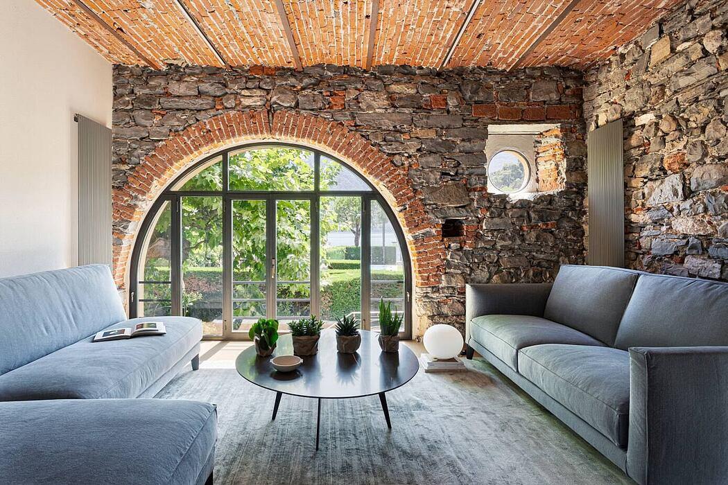 Villa Ae Lake Como by Nomade Architettura Interior Design