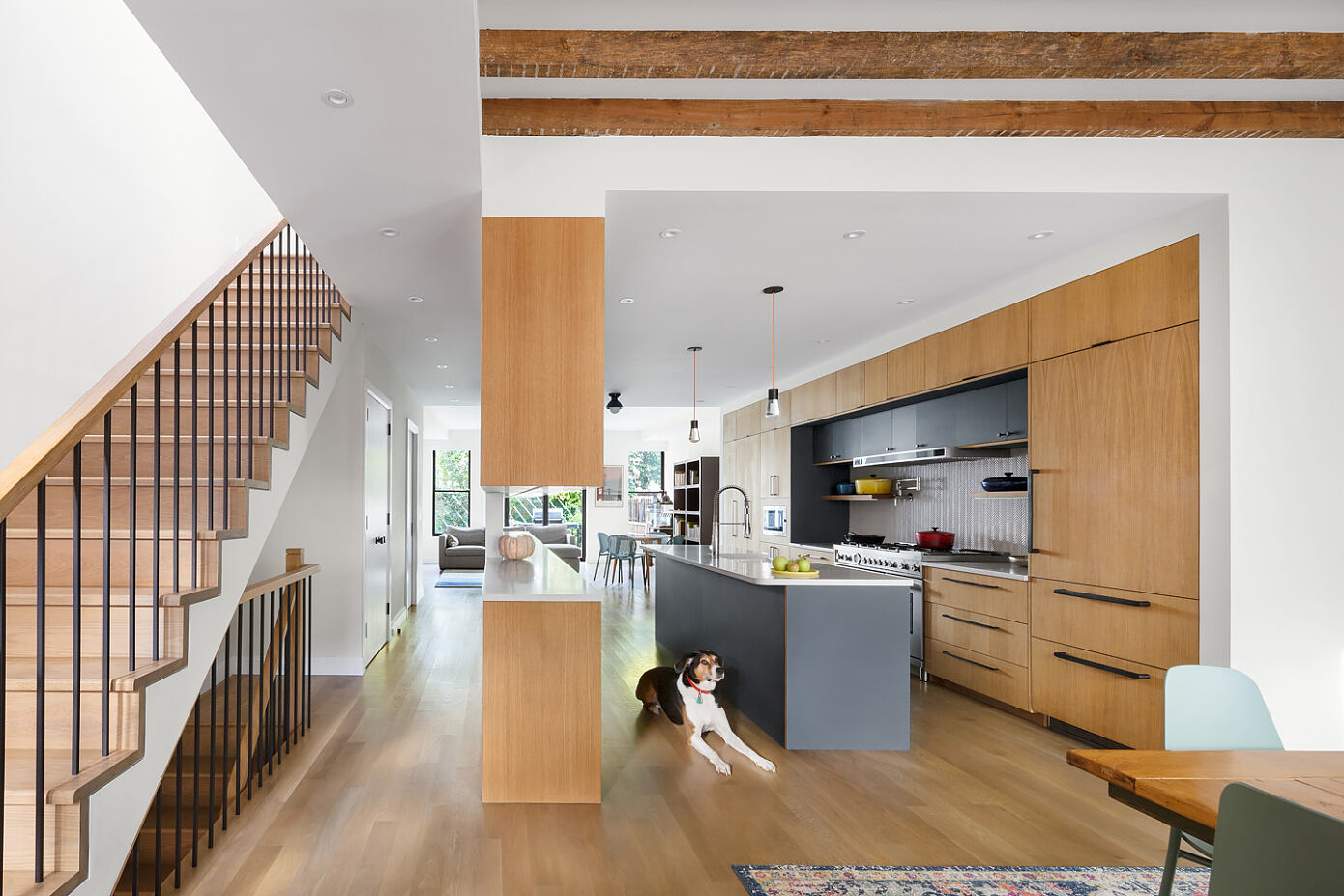 Brooklyn Townhouse by Siris Coombs Architecture