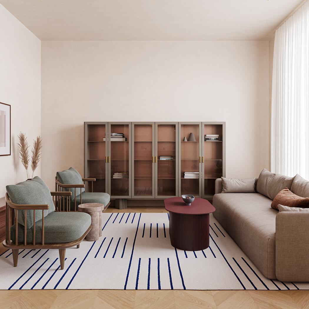 Apartment in Kyiv by Lera Brumina