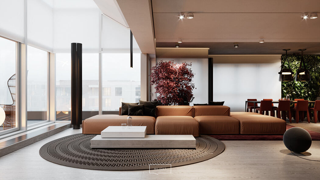 Wy?cigowa Apartment by Hilight Design