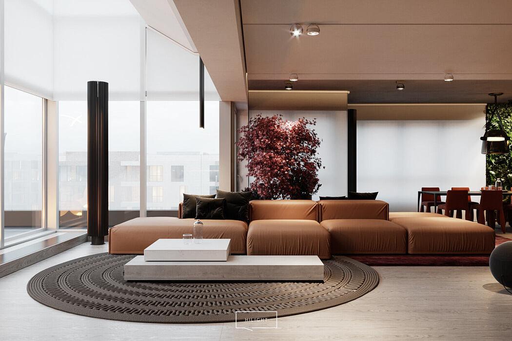 Wyścigowa Apartment by Hilight Design