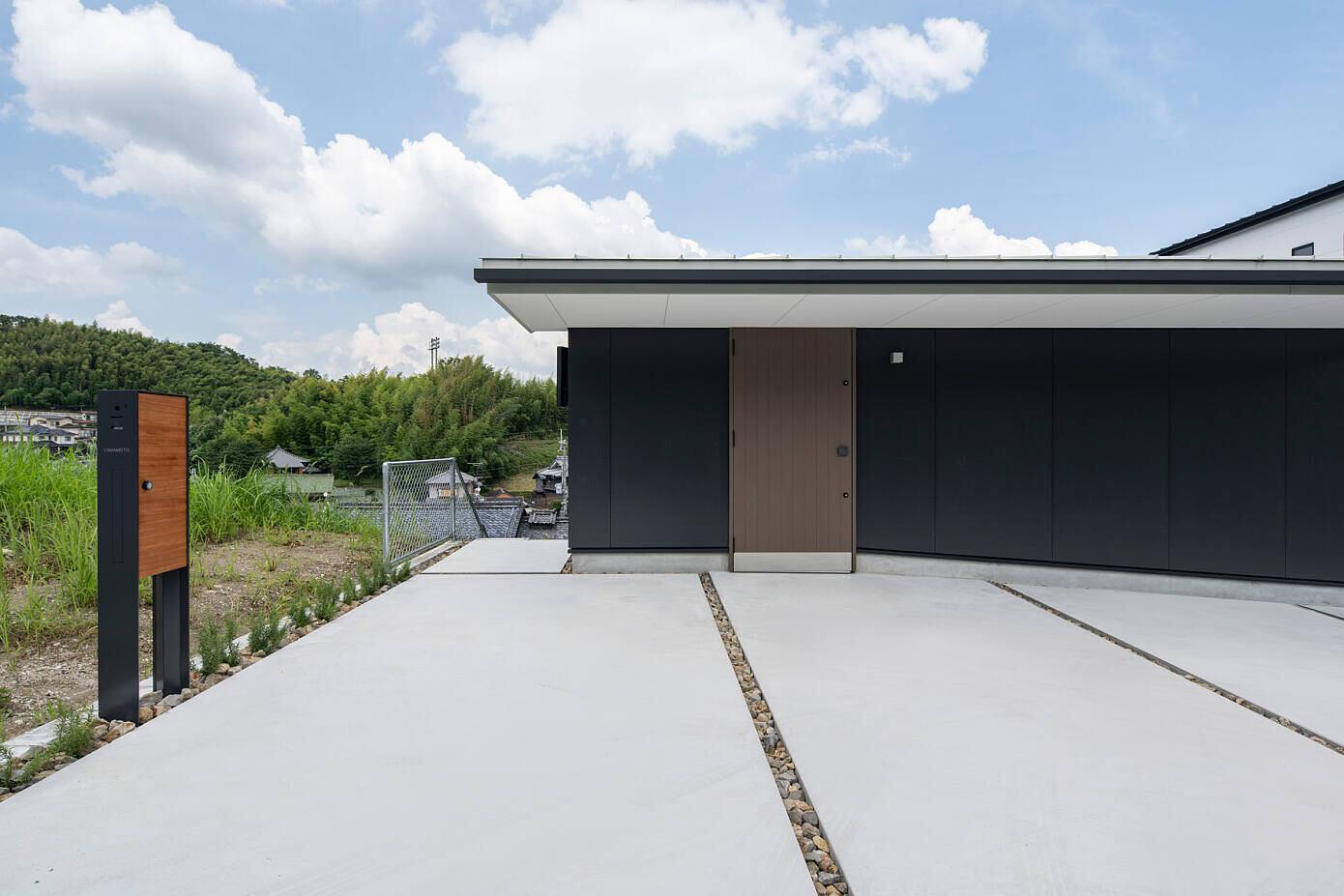 House in Kataokayama by Yoshihiro Yamamoto