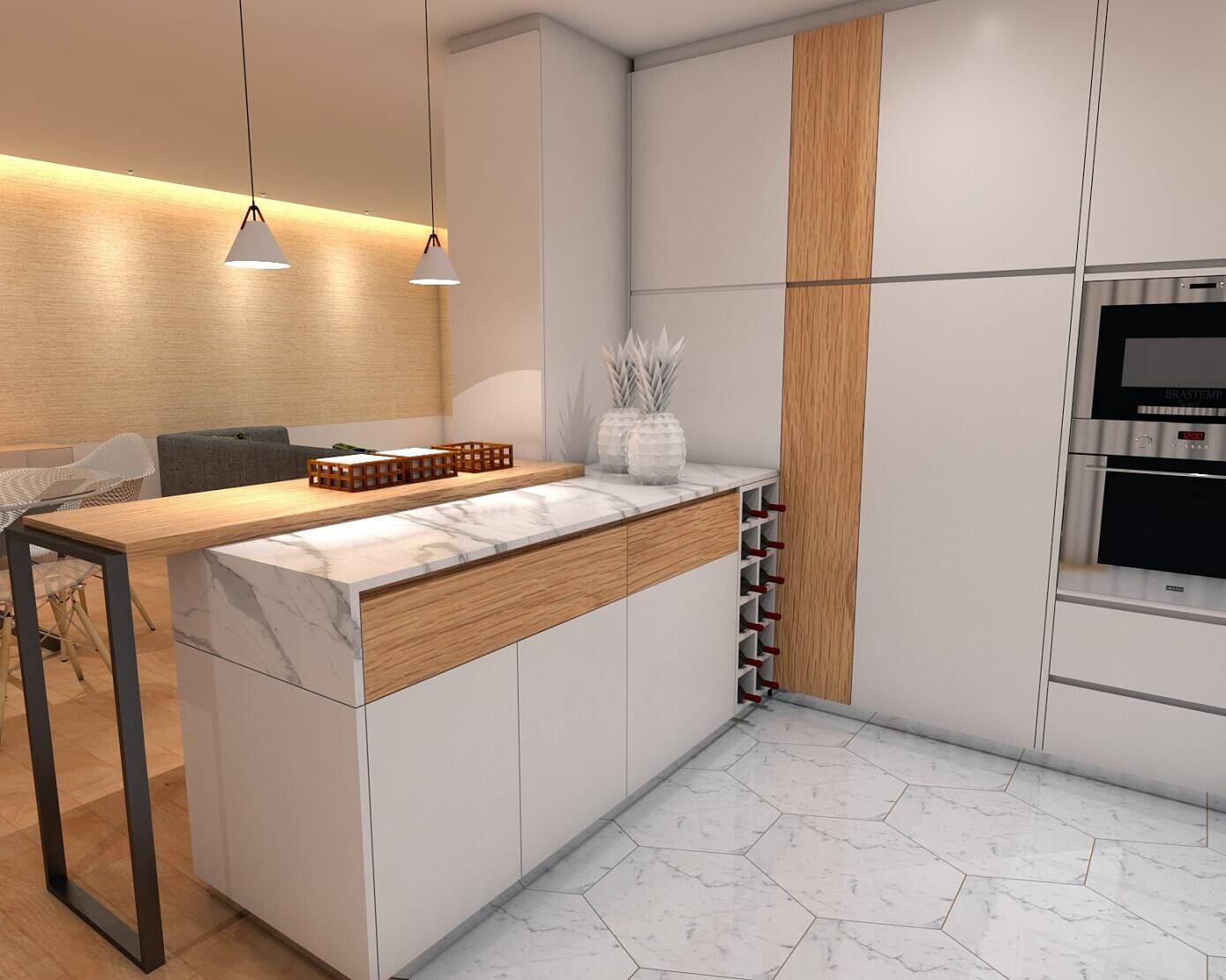 Scandi Apartment by Angelourenzzo – Interior Design