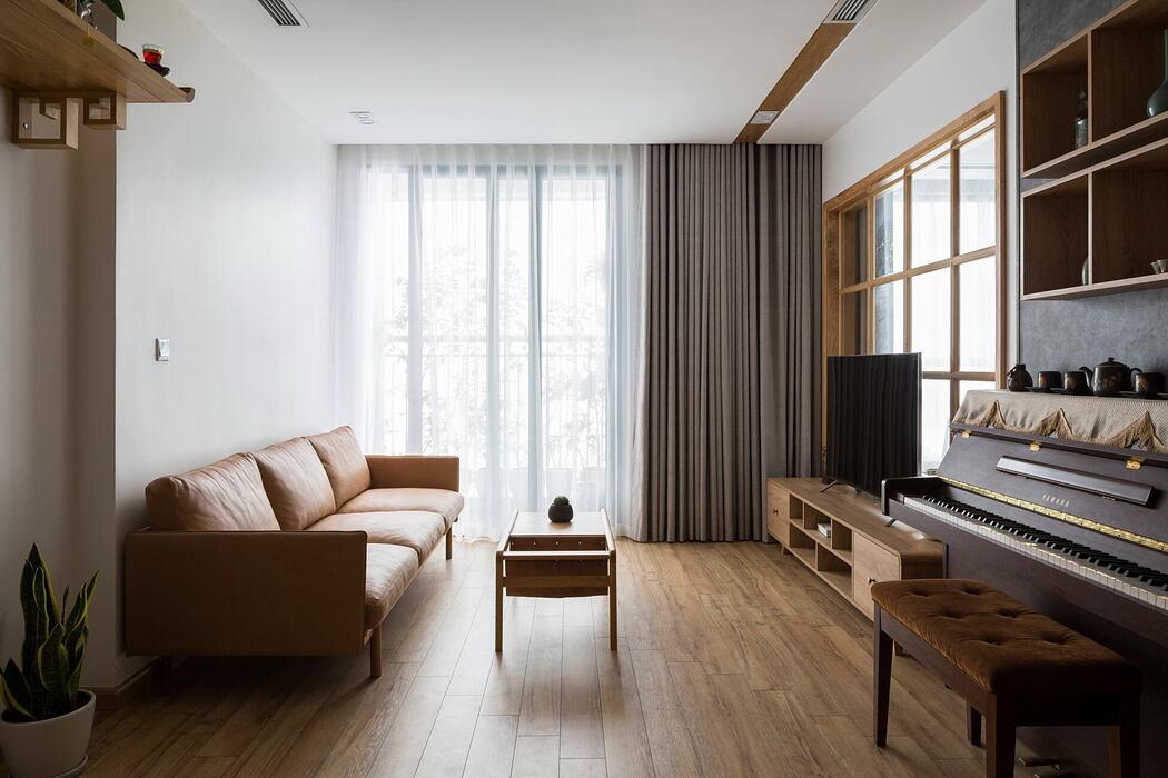 Japandi Apartment by Boring City