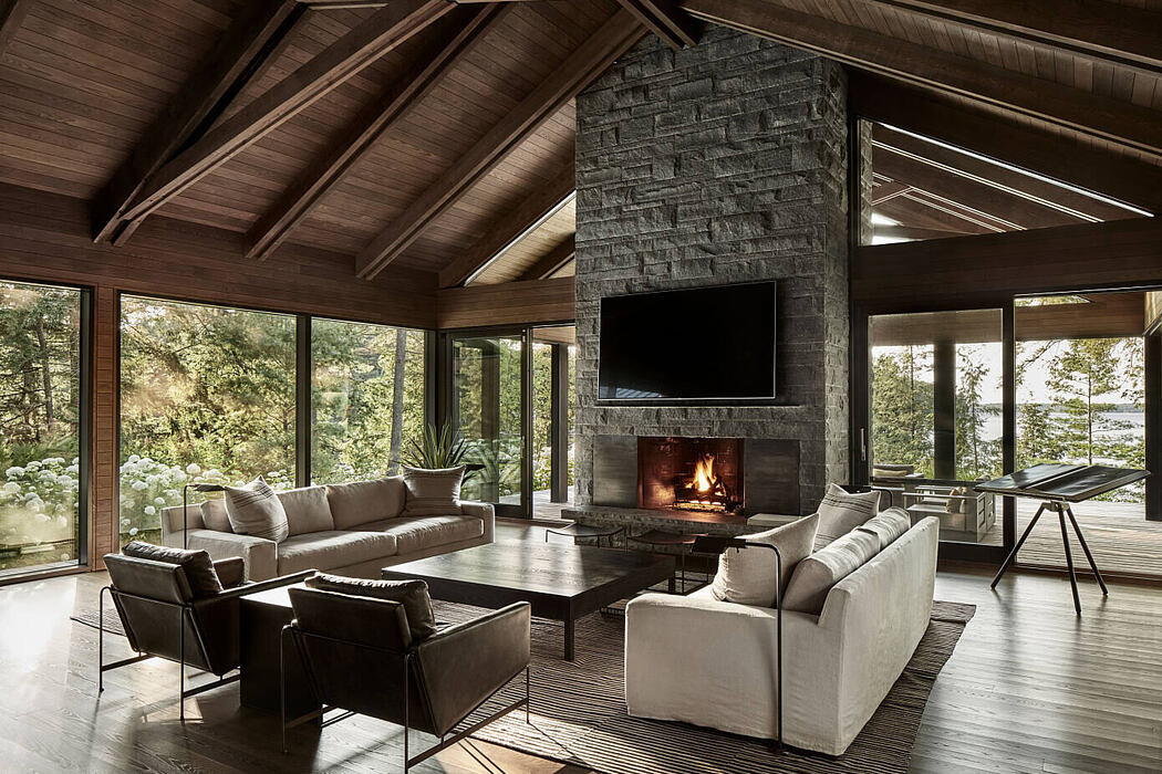 Metrick Cottage and Boathouse by Akb Architects