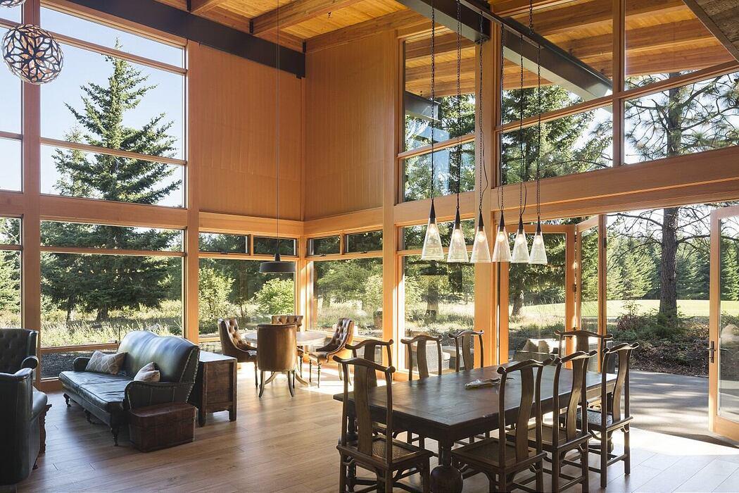 Tumble Creek Cabin by Coates Design