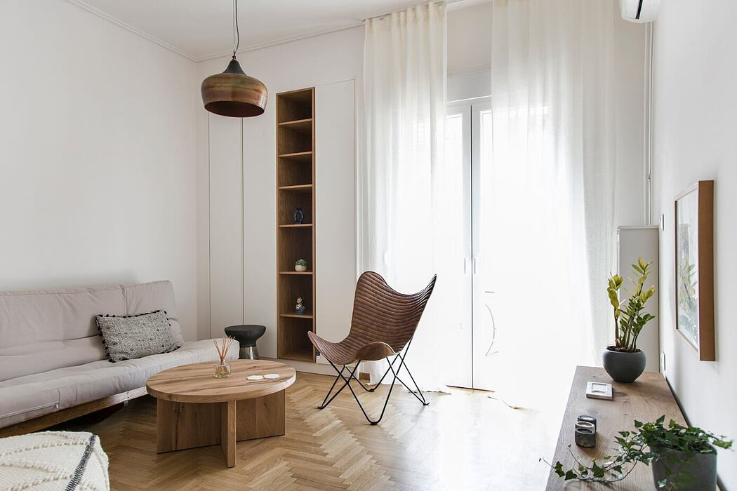 1977 Apartment in Athens by Evelyn Chatzigoula