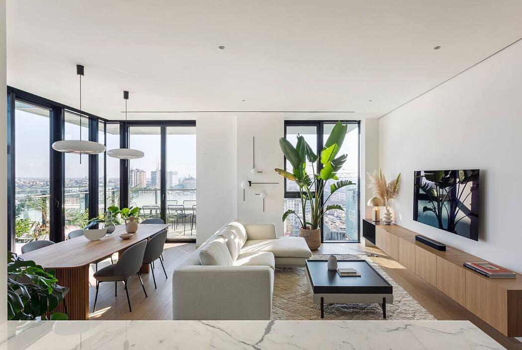 Apartment Solaria by Nomade Architettura Interior Design