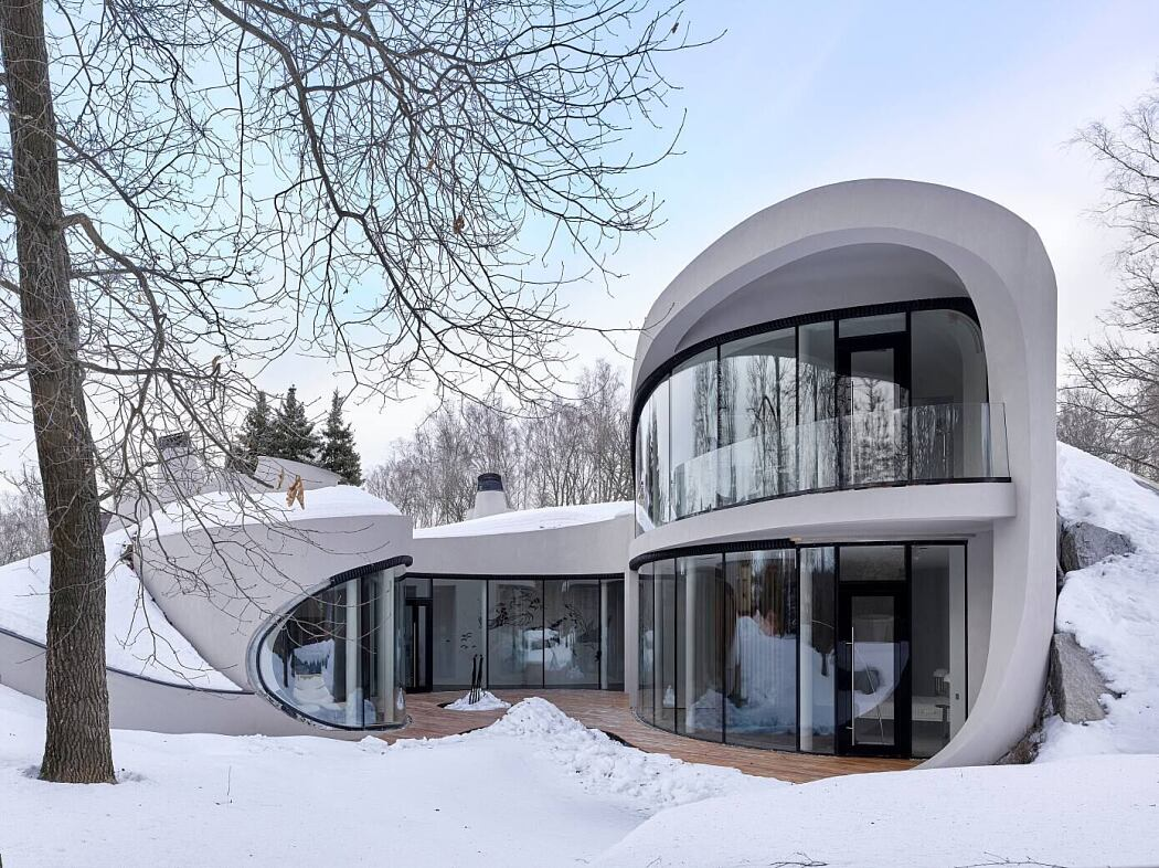 House in the Landscape by Ceadesign
