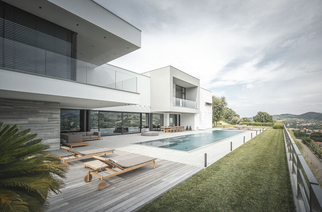 Luxury villa by Francesco Maria Palumbo