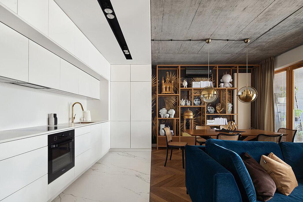 Geometry Apartment by Blackhaus