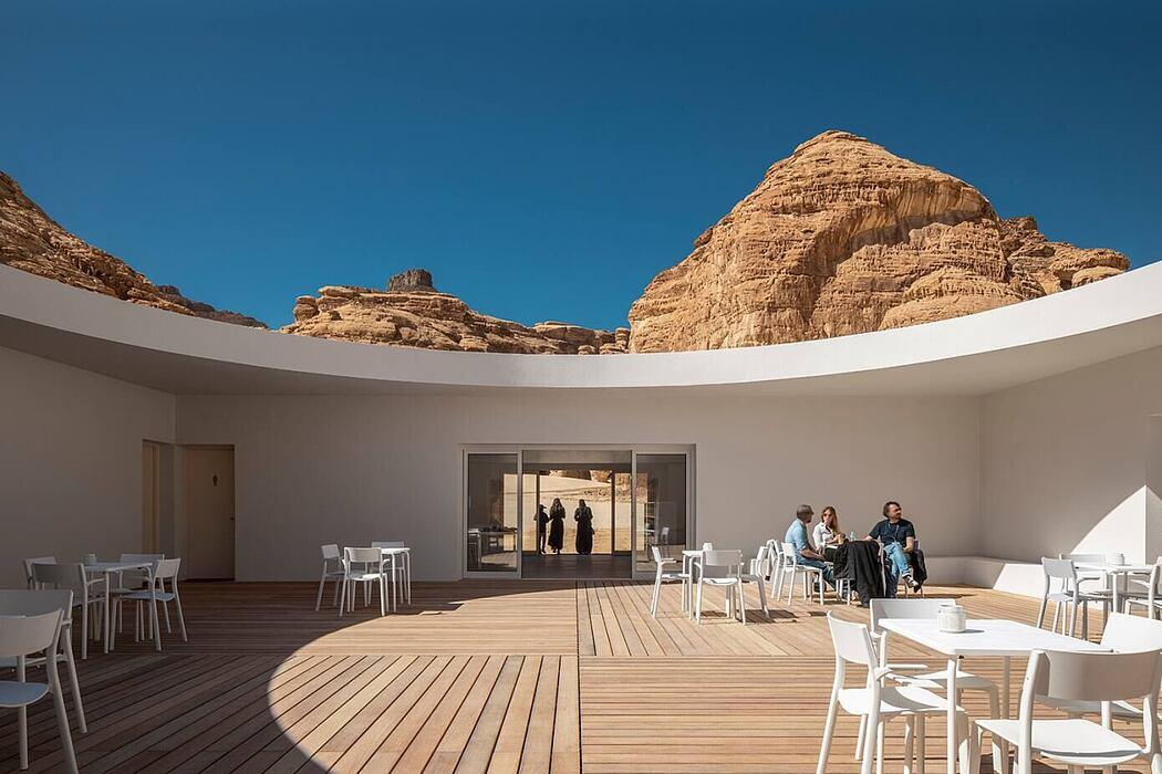 Desert X AlUla Visitor Centre by KWY.studio