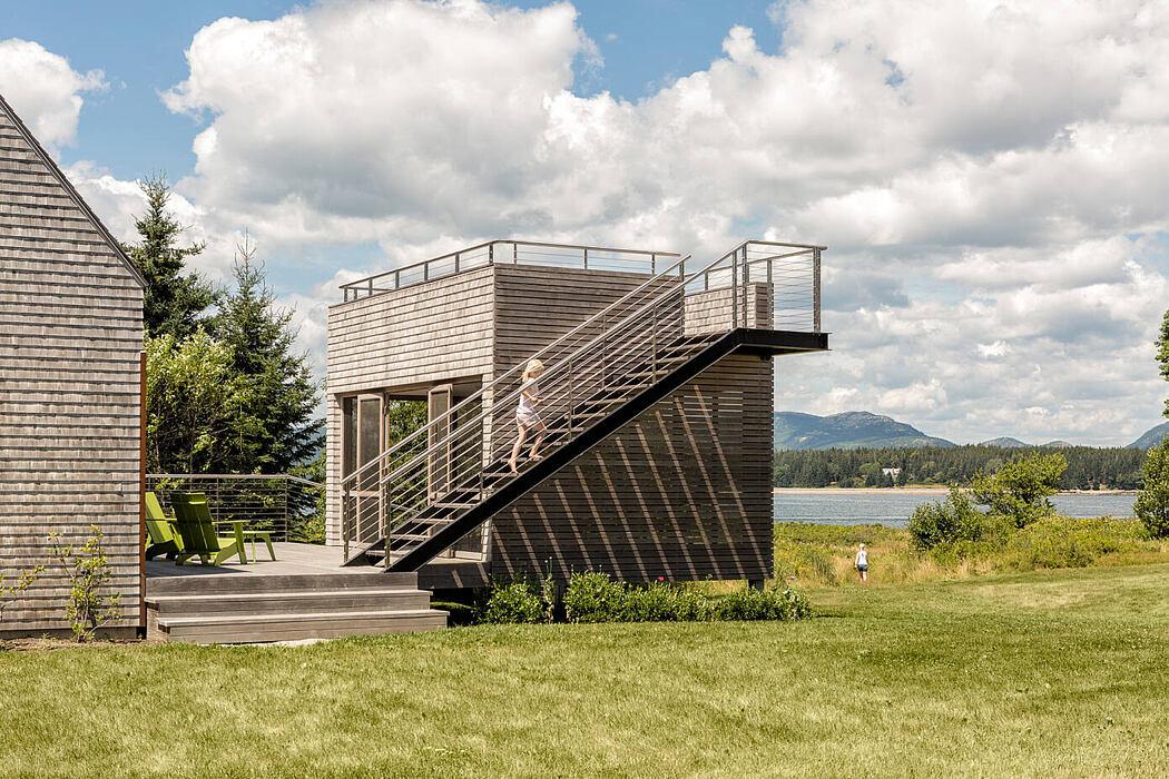 House on an Island by Elliott Architects