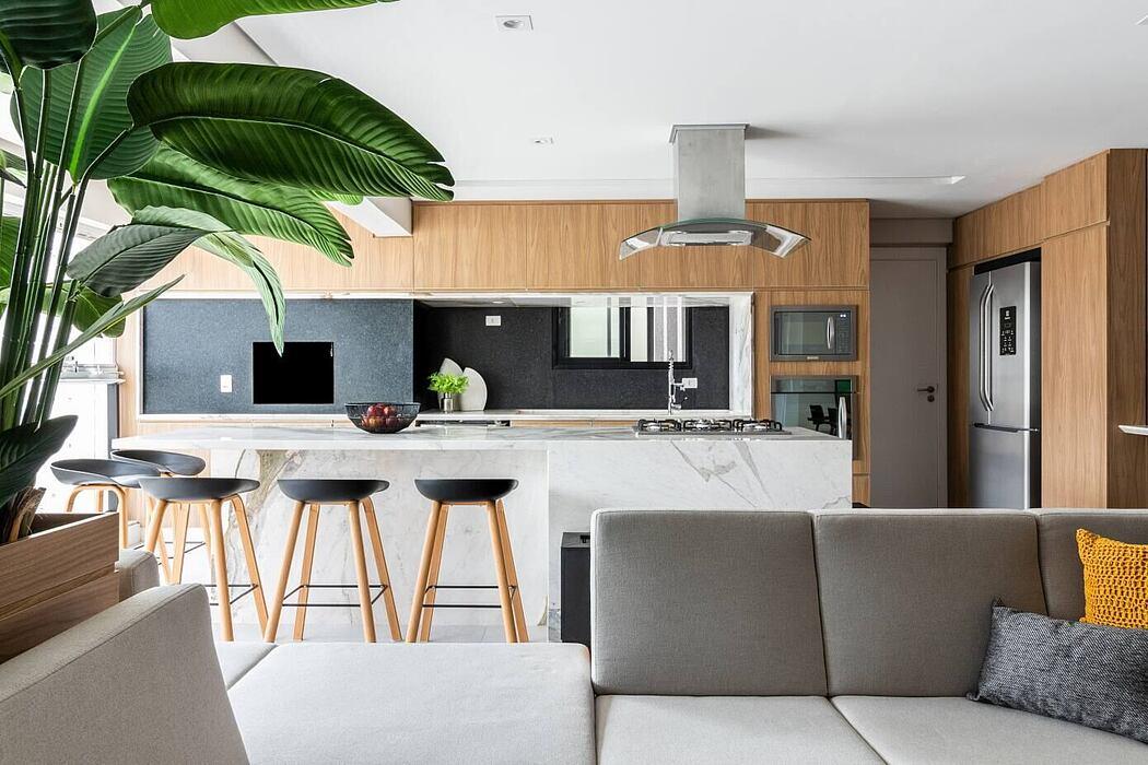 Tropical Apartment by Flávia Franco