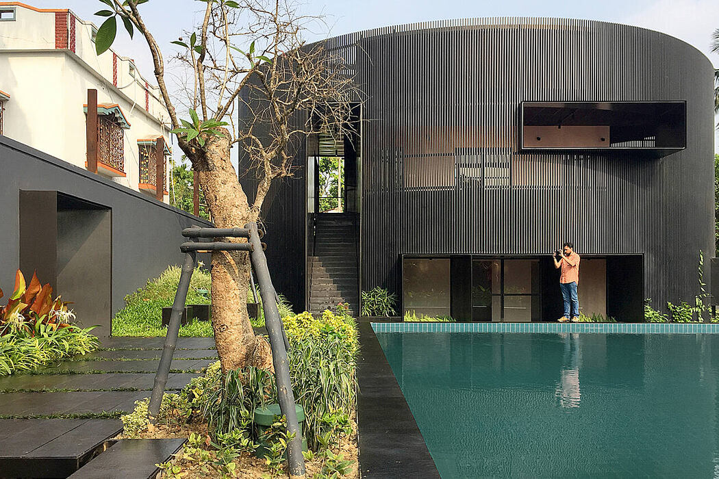 House of Sweeping Shadows by Abin Design Studio