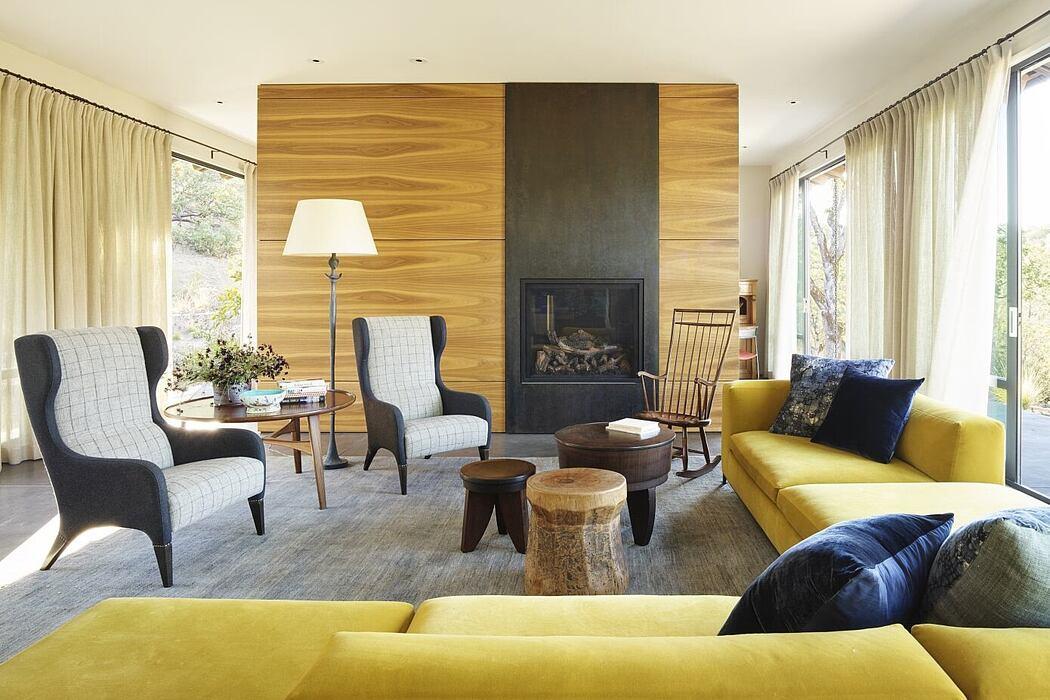 Blue Oaks by Richard Beard Architects