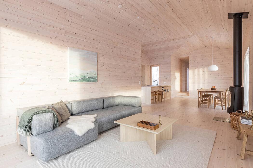 Kvitfjell Cabin by Erling Berg