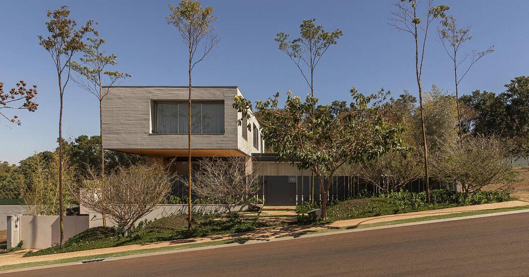 House Casa Comigo by Juliana Risso Arquitetura