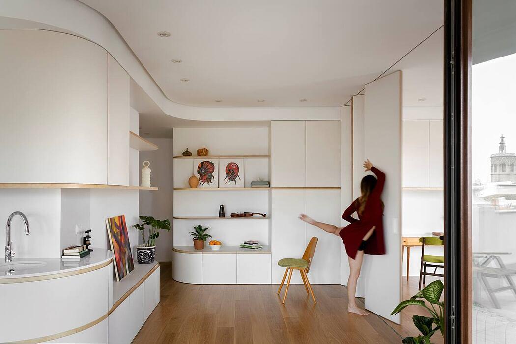 SMM Penthouse by Crux Arquitectos