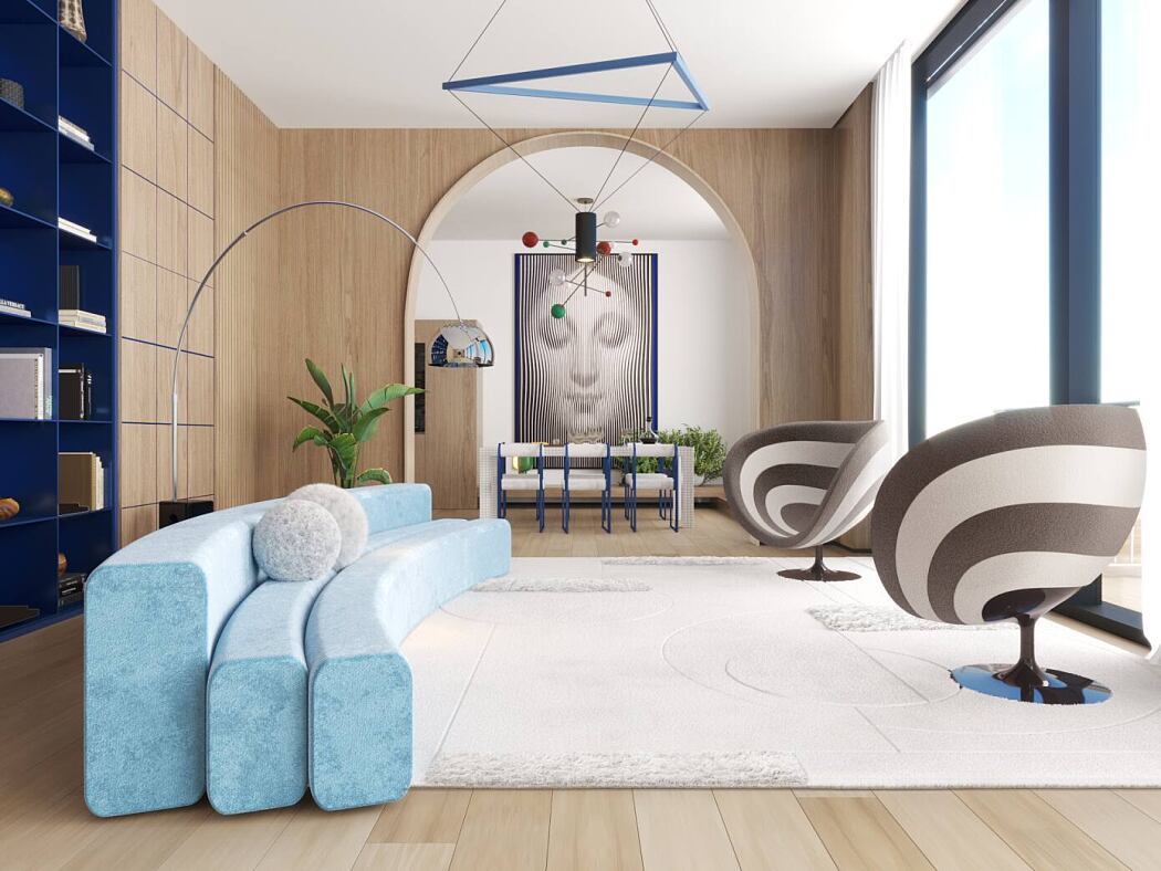 Apartment in Tribeca by Natalia Enze