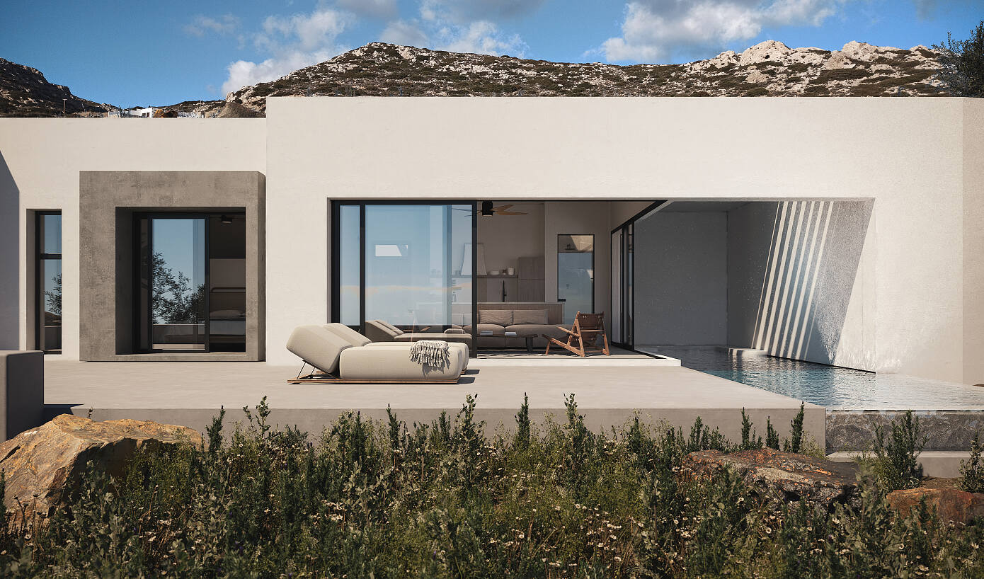 Sheltered Villas by A&M Architects