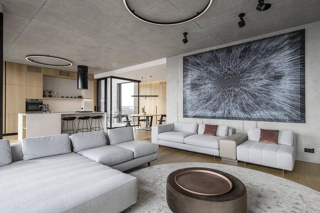 Apartment for a young family by Katarina Moneva, Metodiy Monev