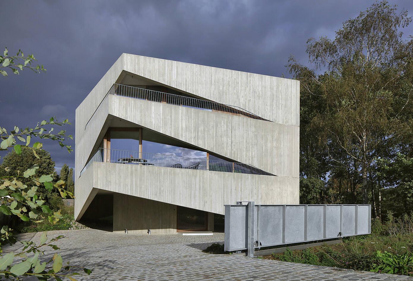 House N-DP by Graux & Baeyens Architecten