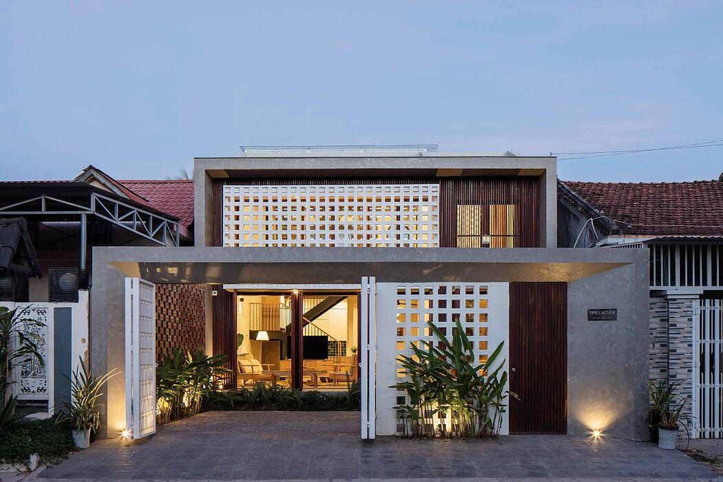 Time House by X11 Design Studio