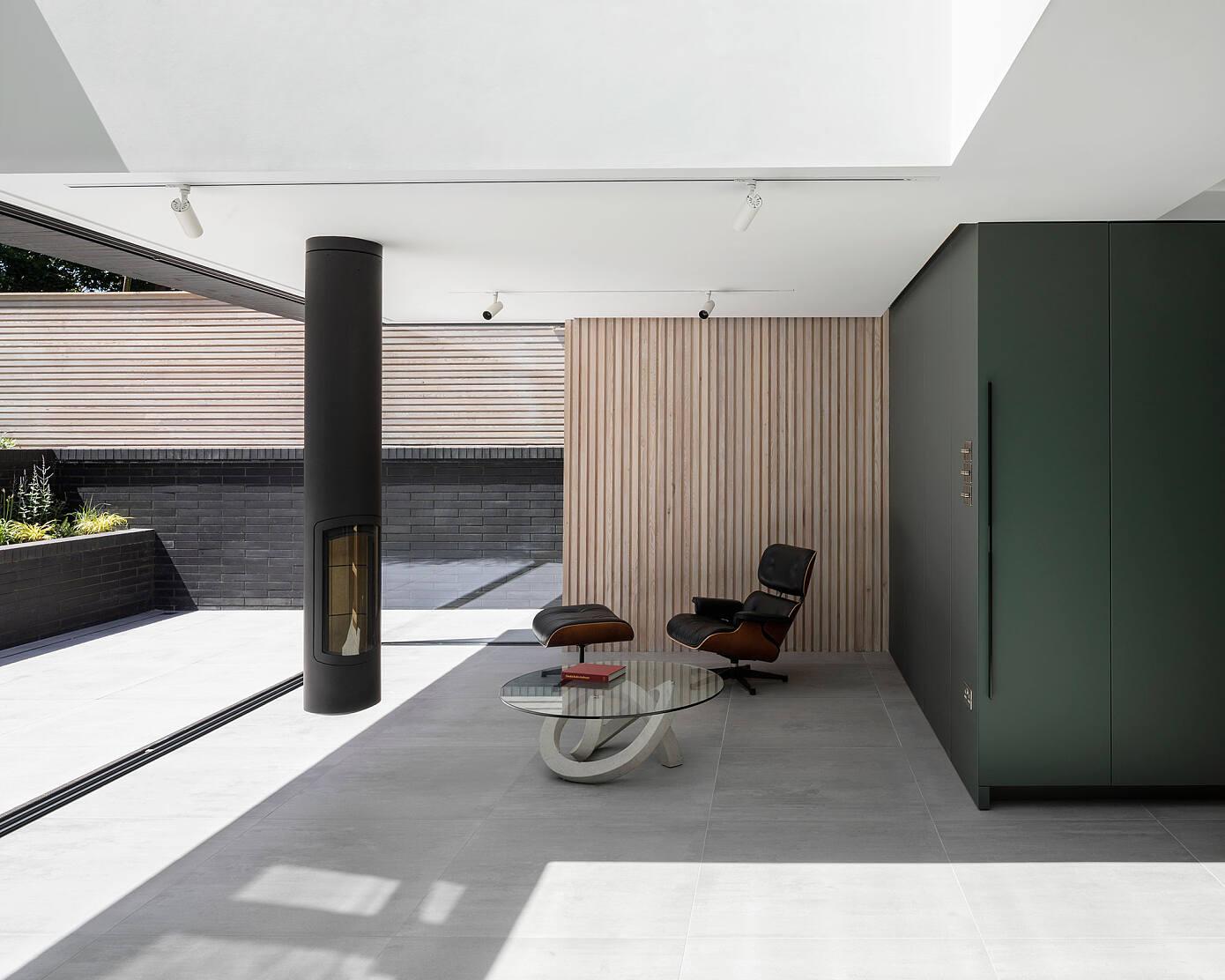 Brick Lintel House by Proctor & Shaw