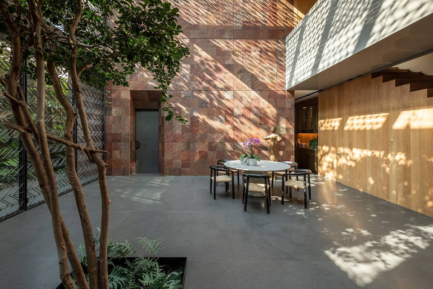 3 Patios House by Once Once Arquitectura