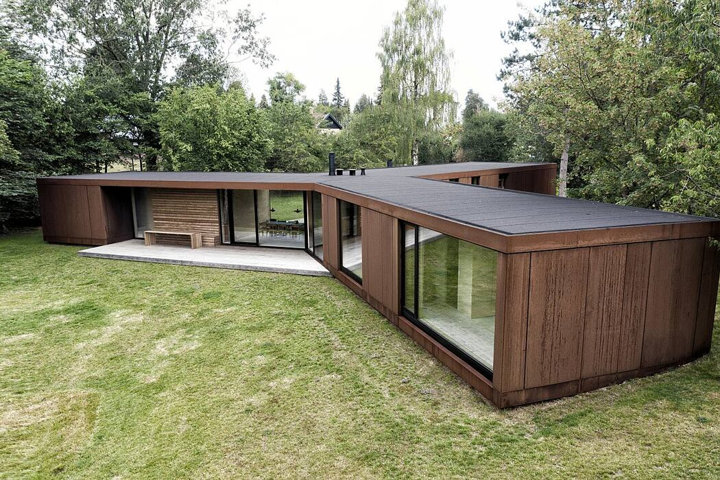 Villa Korup by Jan Henrik Jansen Arkitekter