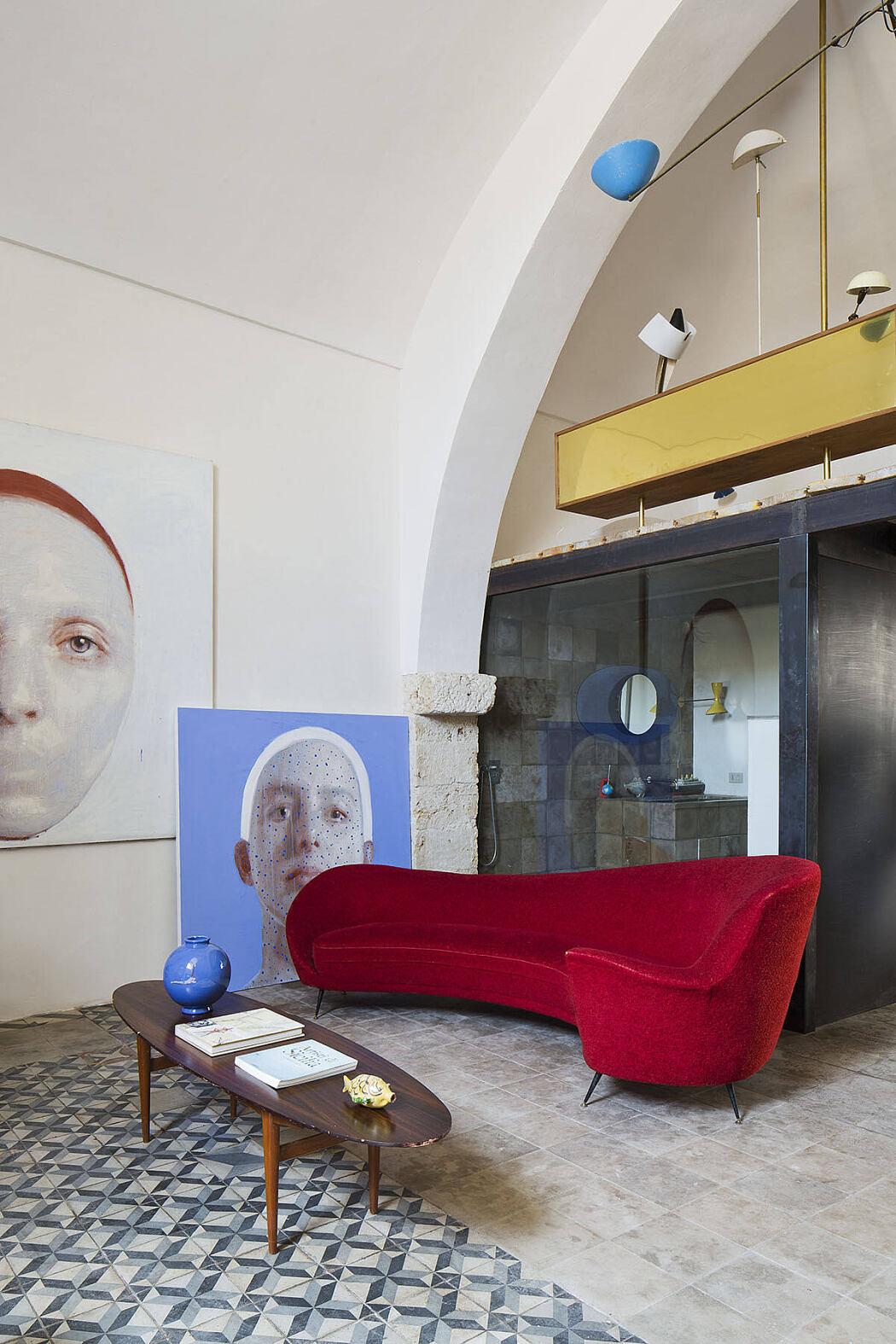 Sergio Fiorentino Studio by +CStudio Architetti