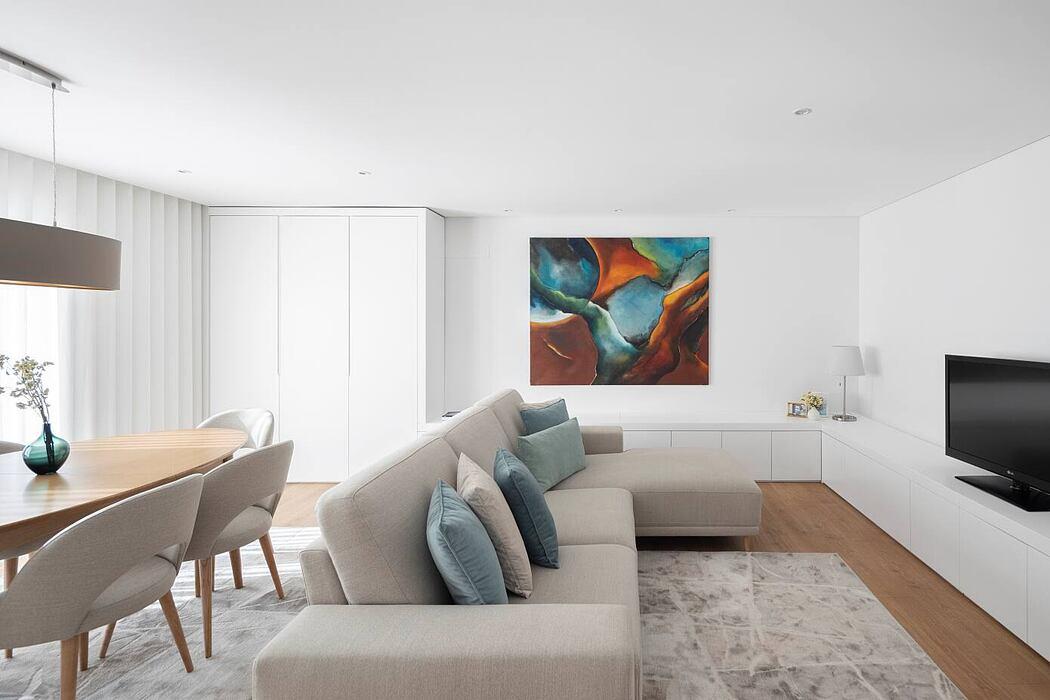 Maximinos Apartment by REM'A Arquitectos