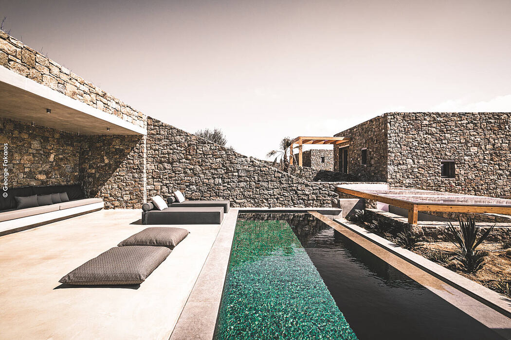 Panormos Bay Luxury Suites by Theodoros Tsafoulias