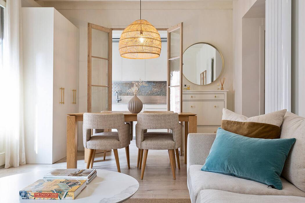 Flat in Raval by Cláudia de Sousa – Interior Design